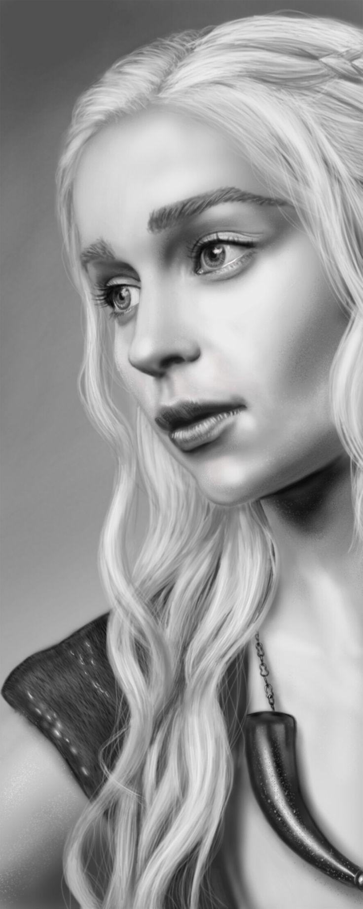 Khaleesi _ Layer paint HD
