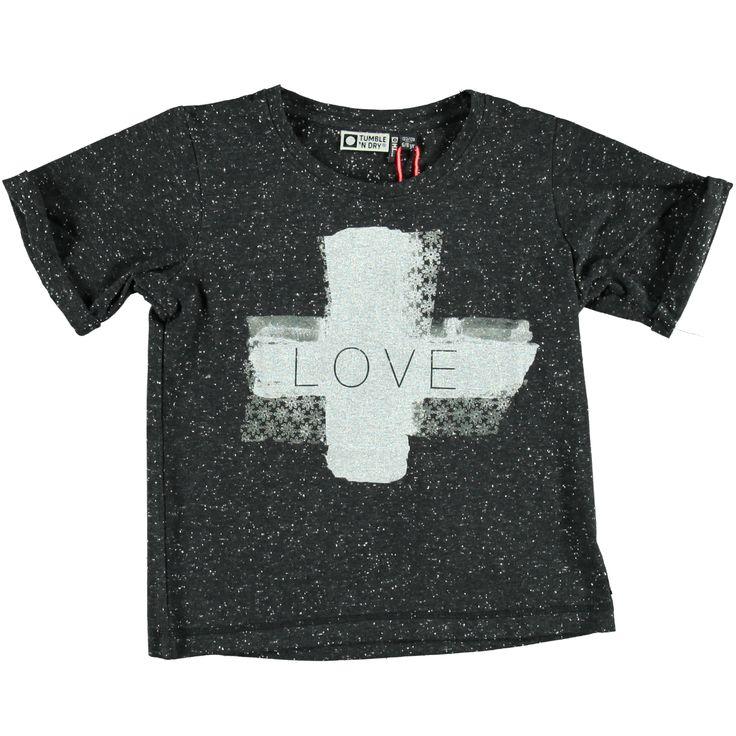 T-Shirt Love | Tumble n Dry | Daan en Lotje https://daanenlotje.com/kids/meisjes/tumble-and-dry-t-shirt-love-001332