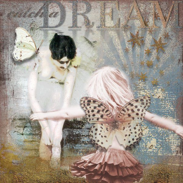 L'INACCESSIBLE ETOILE Kits: Enchantment, Cracked backgrounds, Billa's touch & Click'n summer memories add-on. Photo girl: Marta Everest Photography