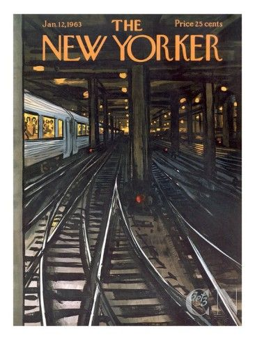 The New Yorker Cover - January 12, 1963 Poster Print by Arthur Getz at the Condé Nast Collection