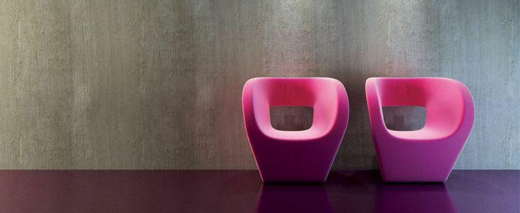 Materia Concrete Design by Elekta Linea Resine by Gruppo Gani - Resins: the new minimal-design effects.