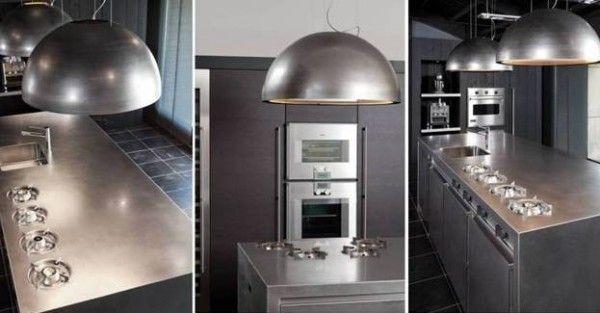 Design afzuigkap van Hollandse bodem, erg fraai als lamp!