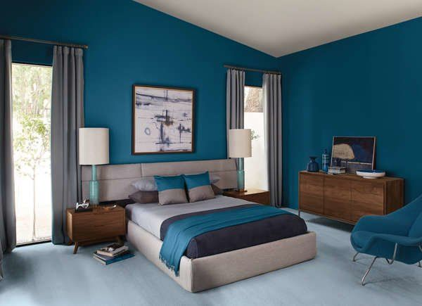 13 Reasons We Love Blue Bedrooms Blue Bedroom Paint Bedroom