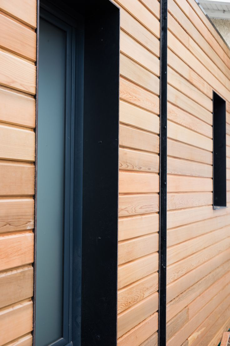 Bardage red cedar bardage bois agrandissement maison