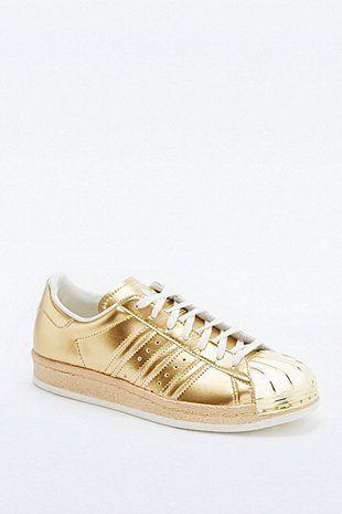 basket adidas doré