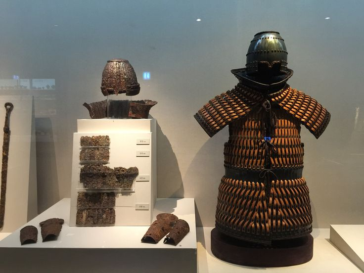 A Suit of armor during the Abdok Kingdom(압독국), The National Museum of Daegu, South Korea
