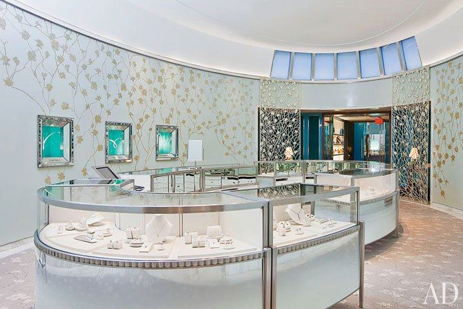 Tiffany & Co.'s dazzling boutique in New York's SoHo.