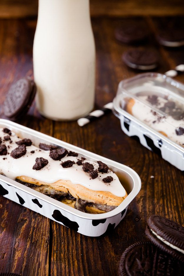 Cookies and Cream Éclairs | Community Post: 15 Scrumptious Oreo Desserts We Are Literally Not Worthy Of