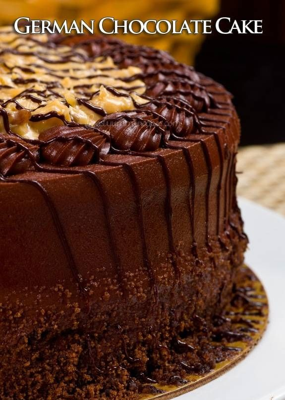 German Chocolate Cake - HowToInstructions.Us