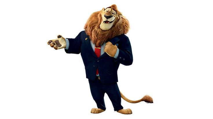 Quiz: Which Zootopia Character Are You? I got Mayor Lion heart