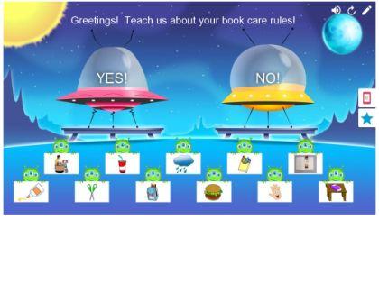 Book Care Picture Sort