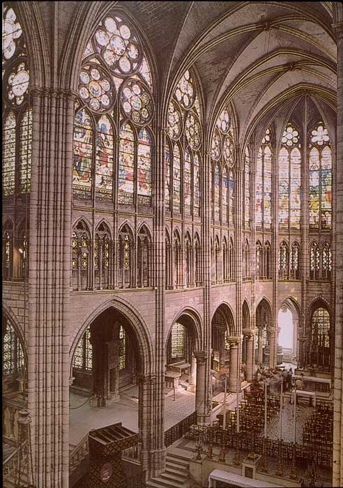 basilica of st denis interior - Google Search