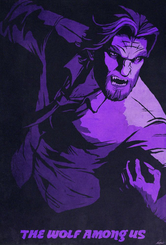 Pin On The Wolf Among Us
