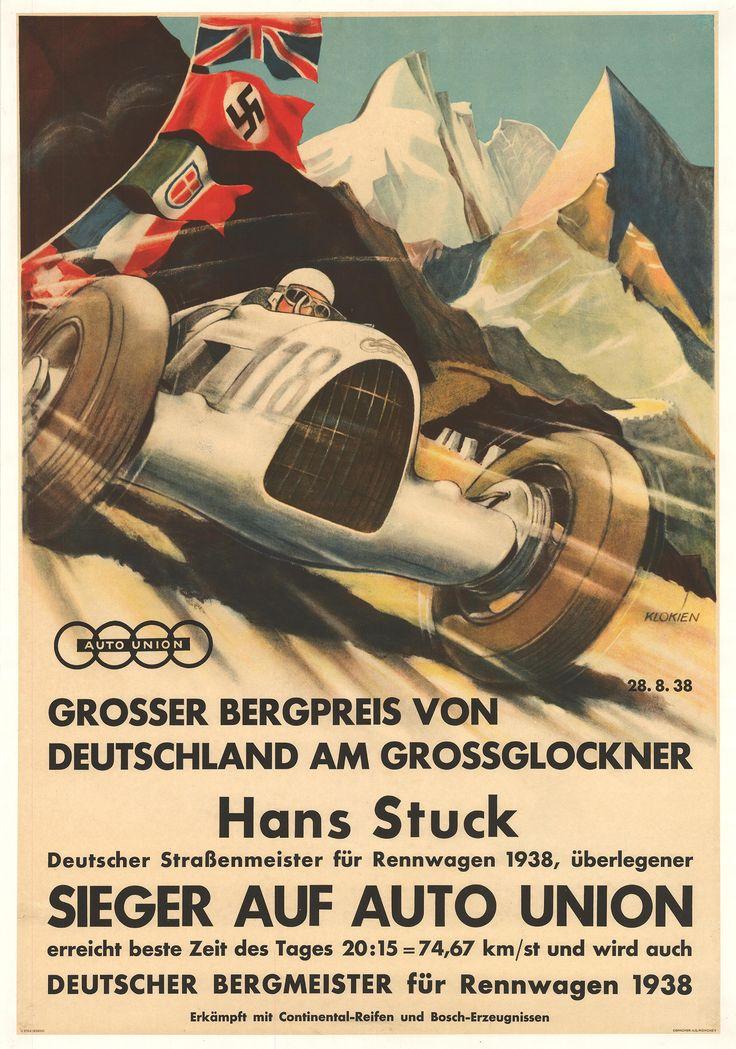 Grosser Bergpreis von Deutschland. Deutscher Bergmeister, 1938