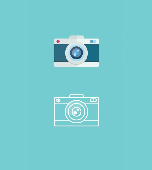 Camera icon by Applove / Flat camera icons / #flat #design #icons