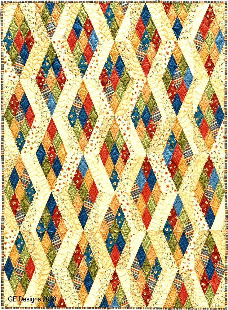 762 best Quilting images on Pinterest : 2 1 2 strip quilt patterns - Adamdwight.com