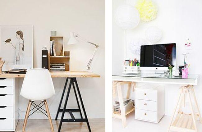 Escritorios escandinavos low cost estilo escandinavo habitaciones de adolescentes peque as y - Escritorios para habitaciones pequenas ...