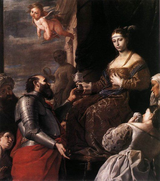 Matia Preeti. Sophonisba Receiving the Goblet. c.1670. Oil on canvas. Musée des Beaux-Arts, Lyon. http://www.mba-lyon.fr/mba/sections/languages/english/museum/welcome-museum-lyon