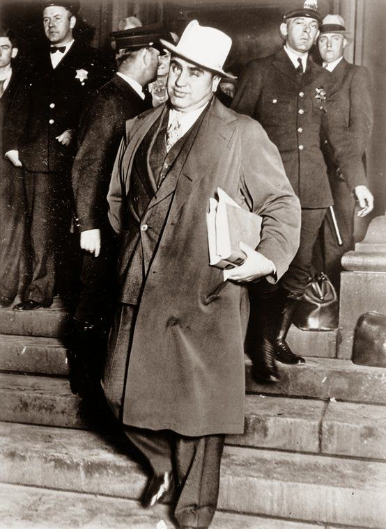 a biography of al capone a famous gangster Find out more about the history of al capone, including videos, interesting  that  could have predicted his rise to infamy as america's most notorious gangster.