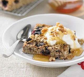 #Healthy Breakfast Slice #Recipes