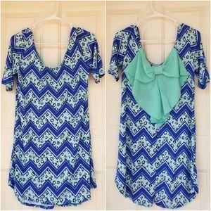 I just added this to my closet on Poshmark: 🆕 Back Boho Mint Chevron Leopard Tunic Dress. Price: $17 Size: Various