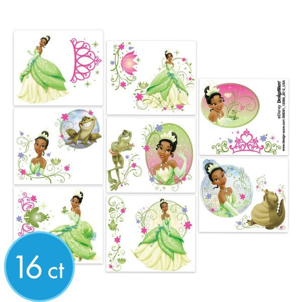 Princess Tiana Tattoo: 16 Best Party Ideas For 10 Year Old Girls Images On