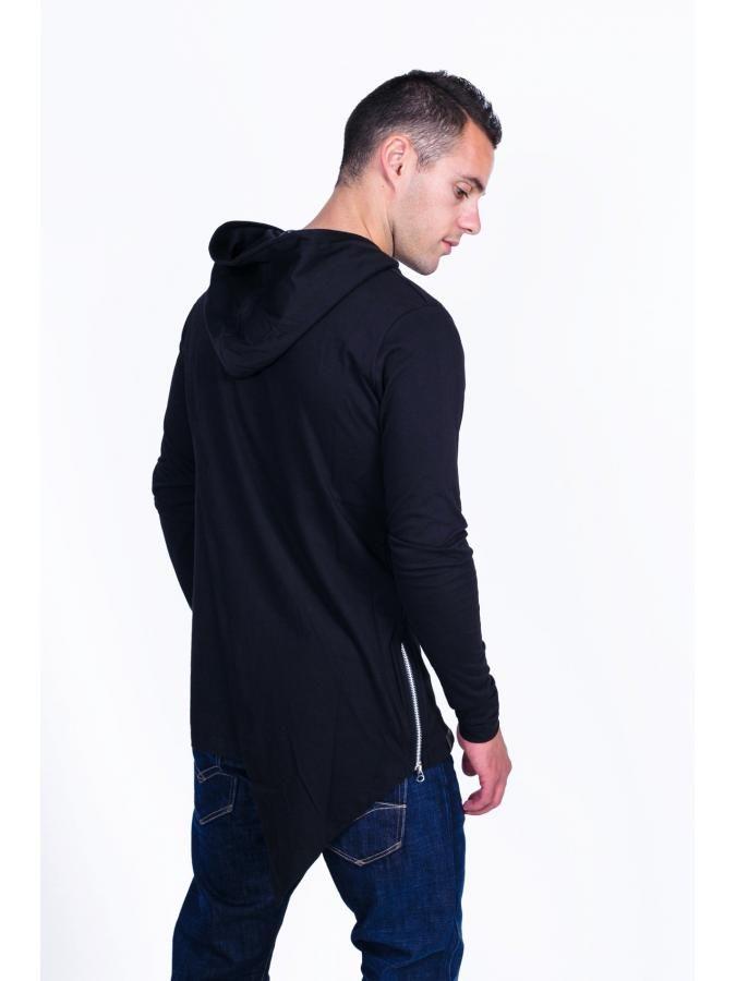 STEFAN Συλλεκτικό fashion ασύμμετρο φούτερ