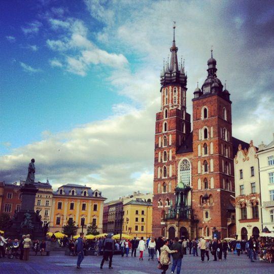 Rynek Główny w Kraków, Województwo małopolskie
