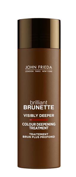 John Frieda Brilliant Brunette Visbly Deeper Colour Deepening Treatment