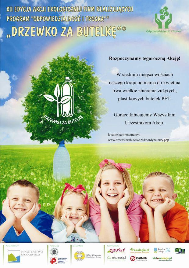 Strono propagująca ekologię. Scenariusze zajęć, konkursy, akcje. http://www.drzewkozabutelke.pl/index.php