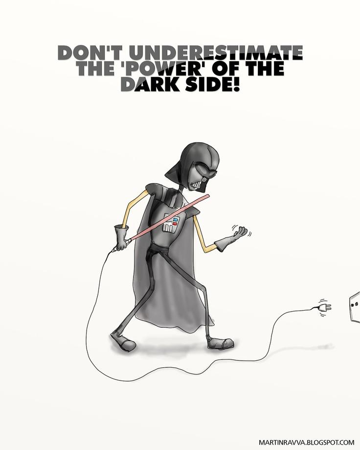 (STAR WARS) Darth Vader, Caption - Karthik Krishnan  martinravva.blogspot.com