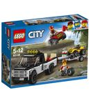 Lego City: ATV Race Team (60148) 60148 Gear up for the big race!Tune up the ATVs and get ready to ride! Lower the ramps and load the ATVs onto the trailer and into the pickup. Then hitch the trailer to the pickup truck and head out to the  http://www.MightGet.com/january-2017-11/lego-city-atv-race-team-60148-60148.asp