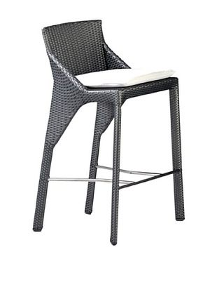 17% OFF Roche Bobois Bel Air Grey All Weather Stool