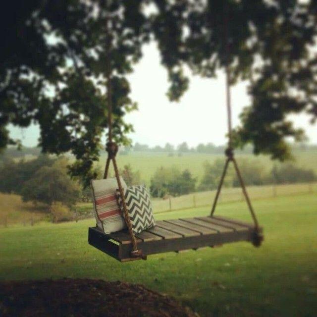 Hojdačky z drevených paliet. Inšpirujte sa! | kreativita.info
