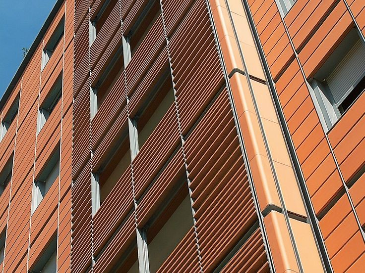 steel and terracotta