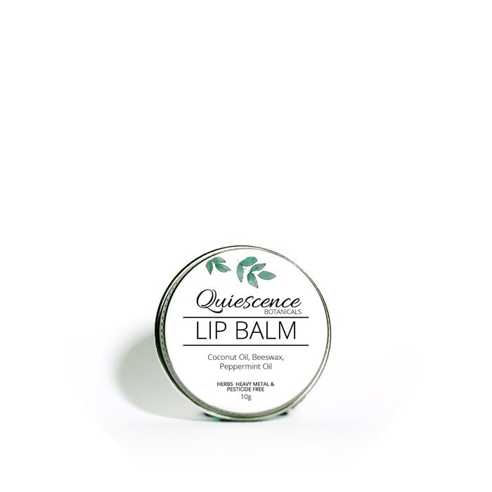100% natural combination coconut oil beeswax and shea-butter with  peppermint to deeply nourish dry lips.  INGREDIENTS: Coconut Oil, Peppermint Oil, Beeswax. Shea-butter.  APPLICATION: Apply to lips as needed