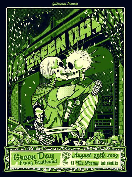 Green Day by Ivan Minsloff