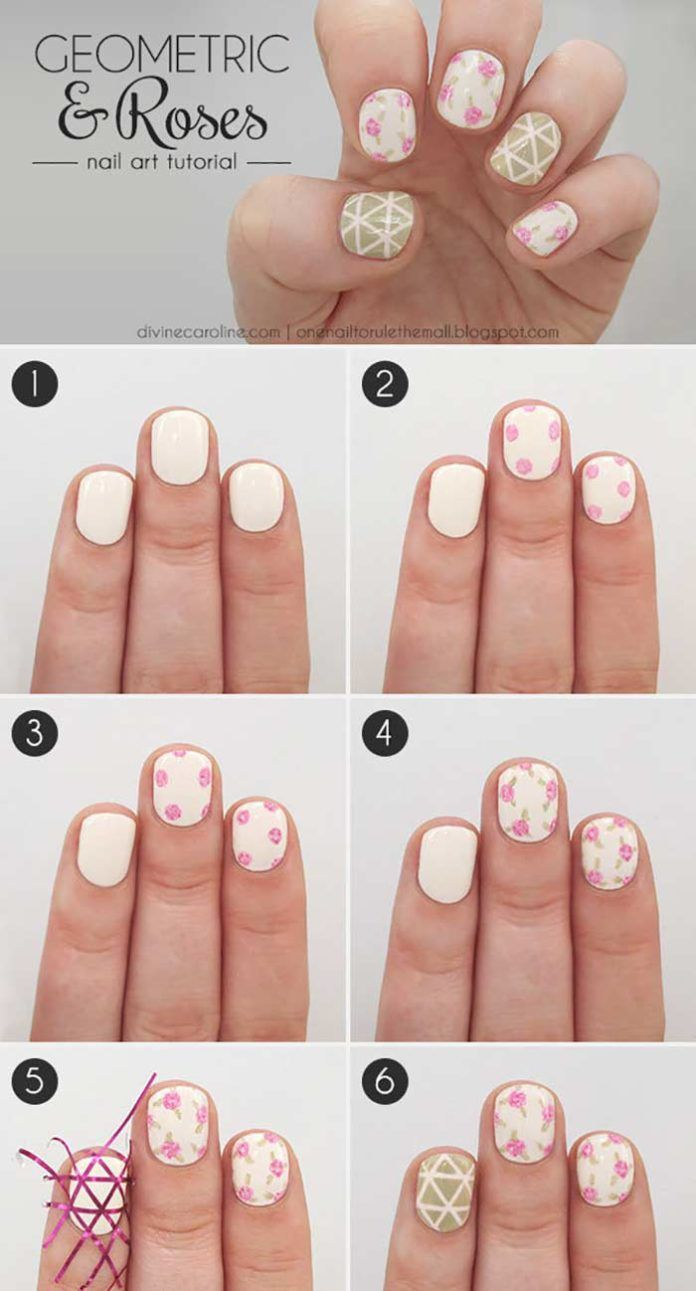 16 Easy Step By Step Nail Art Ideas For Beginners Millions Grace Simple Nail Designs Trendy Nail Art Designs Nail Art Tutorial