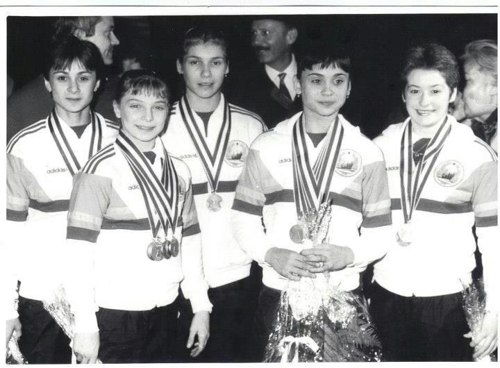 Romanian Gymnasts Rotterdam