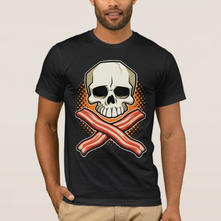 Skulls & Bacon Logo American Apparel T-Shirt - click to get yours right now!