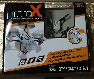 ﹩21.95. New Estes ProtoX NanoDrone White Micro RC Quad Copter Wireless Controller USB    Fuel Type - Electric, Color - White, Vintage (Y/N) - No, Material - Plastic, Required Assembly - Requires 2 AAA Batteries, UPC - 047776046092