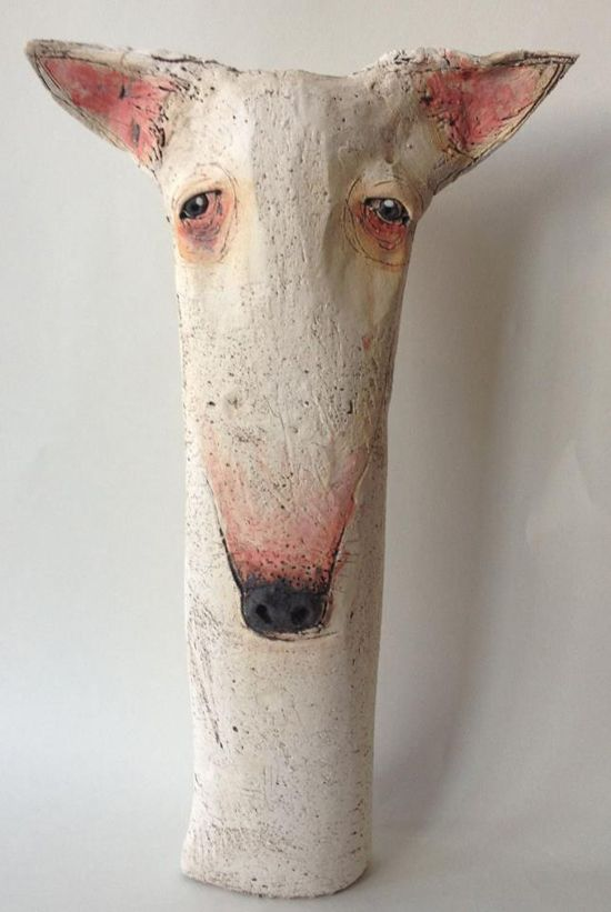 sarah saunders for @Rose Pendleton Pendleton Pendleton Pendleton O'Connor - #dog #sculpture