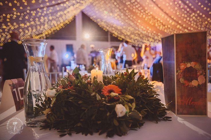 Dekoracje stołu Pary Młodej || Newlyweds table decoration