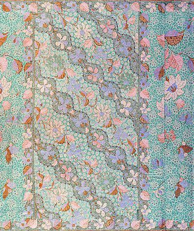 Batik Peranakan - Karya Oey Kok Sing (meninggal 1966), Sarung Encim, Dlorong…