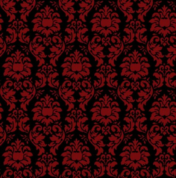 black damask wallpaper on - photo #9