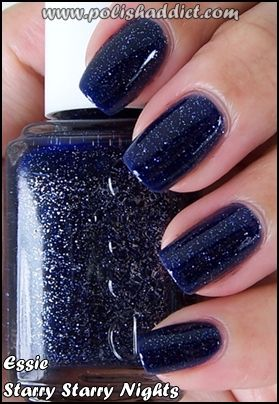 Essie - Starry Starry Nights: Nails Nails, Nails Art, Night Dupes, Starry Night, Makeup, Nails Color, Nails Polish, Nails Files
