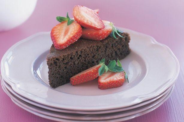 Flourless chocolate cake main image