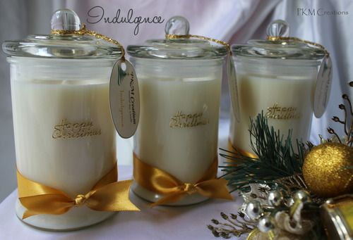 Three Kings Candle Collection ~ Indulgence