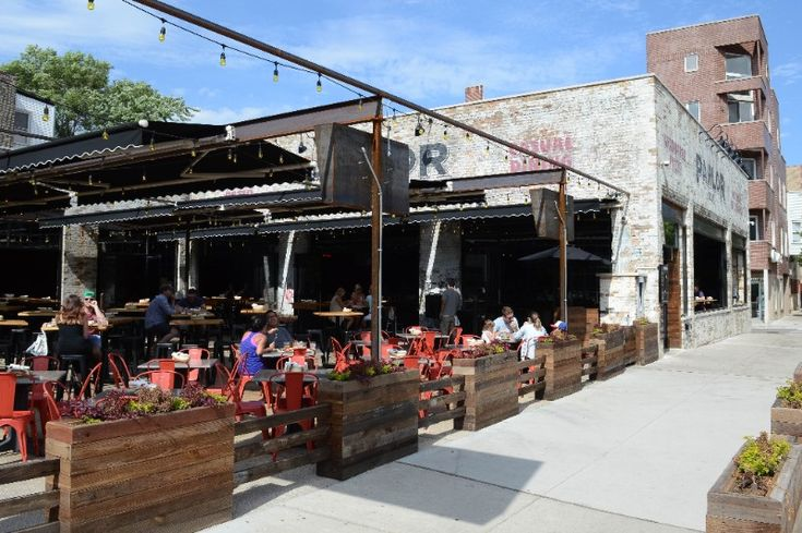 Industrial-chic hangout with a patio, offering wood-fired pies and a bar with craft beer and cocktails. Wide-screen televisions inside and the ping pong table outside give this high energy crowd plenty of options.  Spokin tip: There are very limited nuts on the menu.