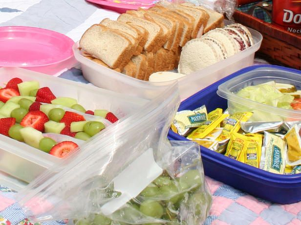 Plan a picnic potluck! Such a fun idea!  Have each guest bring a blanket and dish to share on a Sunday afternoon.